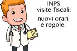 Visite fiscali, dal 1 settembre, il medico di controllo sarà sempre inviato dall'Inps