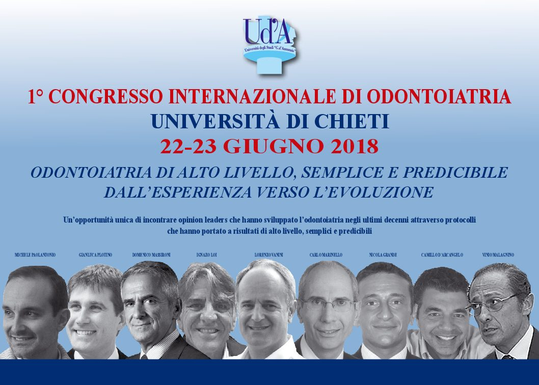 1° CONGRESSO INTERNAZIONALE DI ODONTOIATRIA