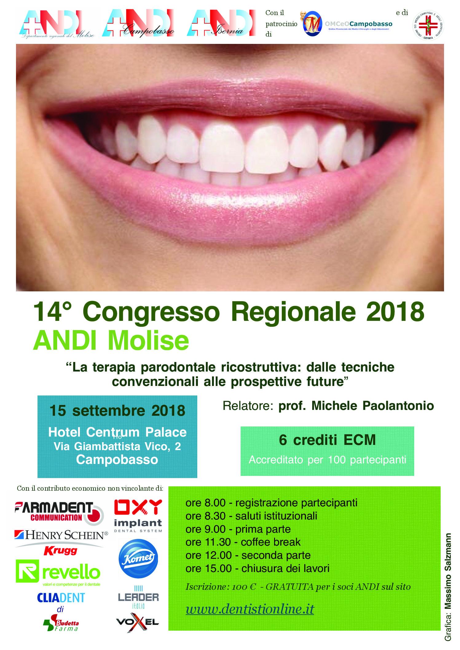 14° Congresso Regionale 2018 ANDI Molise
