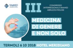 Sabato 6 Ottobre a Termoli il III° Congresso Interregionale SNaMID Abruzzo-Molise