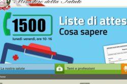 Ministero Salute, al via il numero 1500: Per dare informazioni ai cittadini e raccogliere segnalazioni sulle liste di attesa